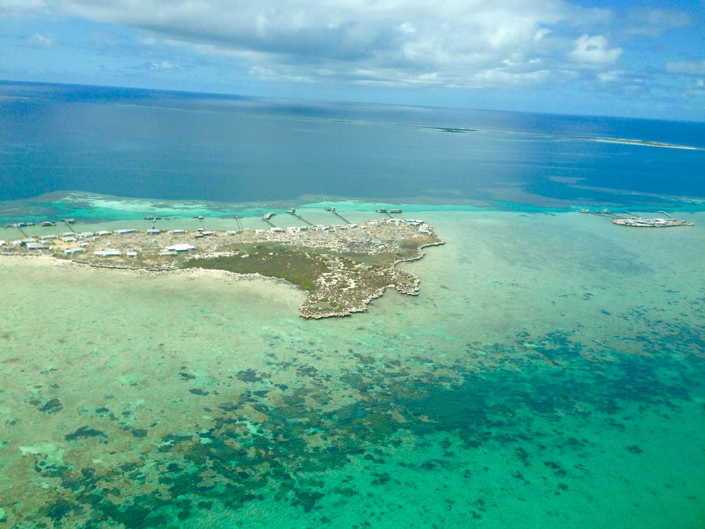 The Abrolhos Islands approximately 70km off the coast of Geraldton