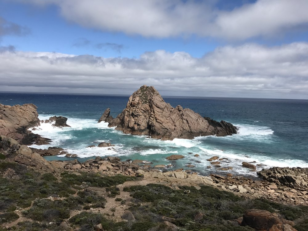 Sugar Loaf Rock is a stunning natural landscape and favourite of tourist and locals alike