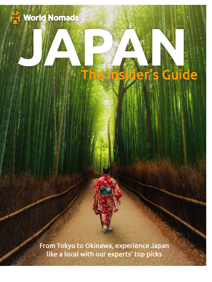 As a featured writer in the World Nomads guide to Japan my writing has helped travellers throughout the world