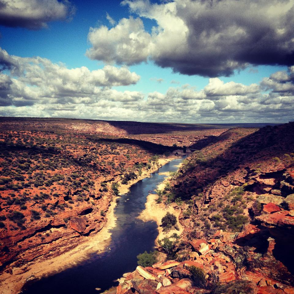 Adventure seekers head to Natures Window hiking trail to take in some true outback Australia scenes