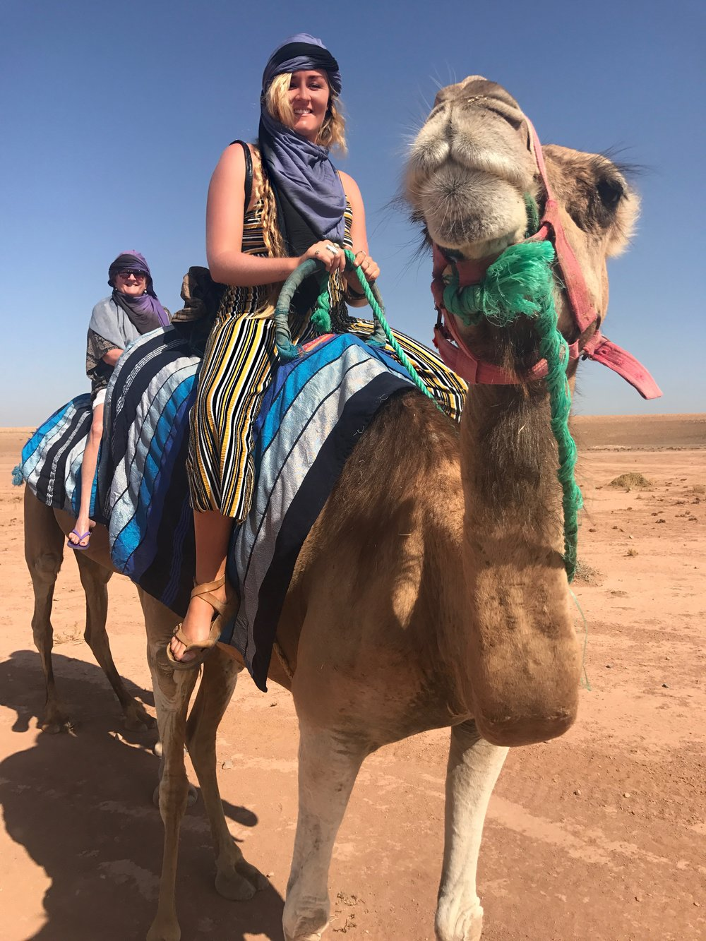 Camel experiences with Dunes & Desert based in Marrakech are fantastic!