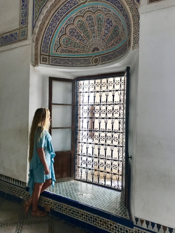 Morocco's vibrantly tiled mosques, riad's and palaces are a sight to behold. Image: @mermaid_tales_adventure