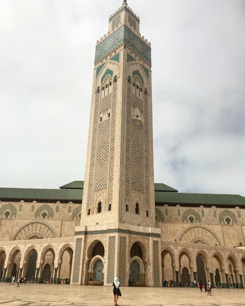 The Hassan II Mosque, or Grande Mosque in Casablanca is a worthy addition to the itinerary for any Moroccan adventure. Image: mermaid_tales_adventure