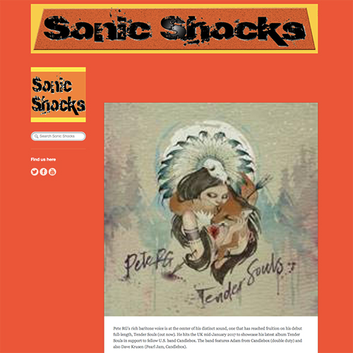 Sonic Shocks | January 2017