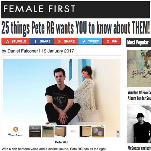 Female First | January 2017