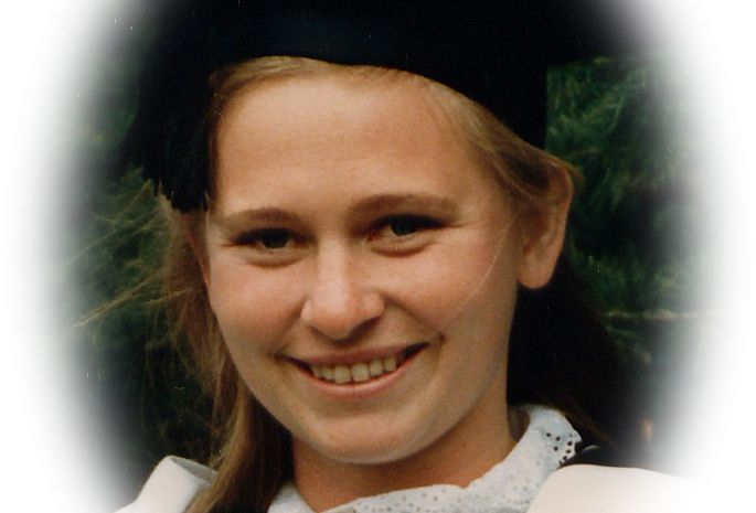Kate as an under graduate