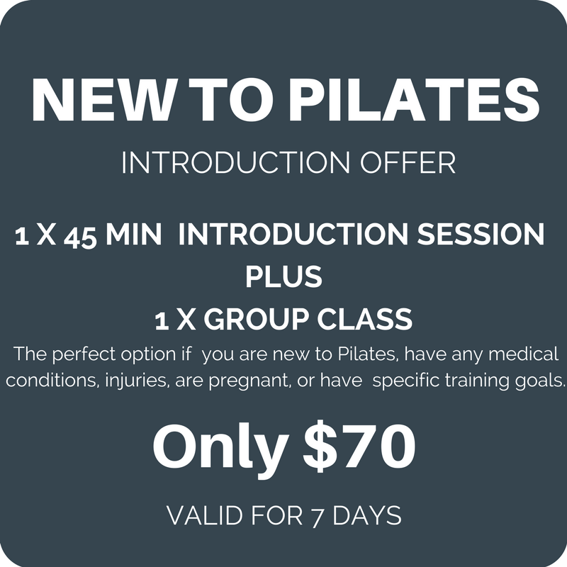 Pilates introduction offer