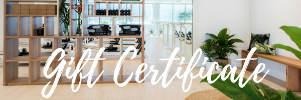 The perfect gift for any occasion. Choose the value of your gift card upon purchasing and the receiver can redeem their voucher online within 3 months of your purchase. Gift cards can be used to redeem any service at CGM Pilates including all group classes, private sessions and packages.