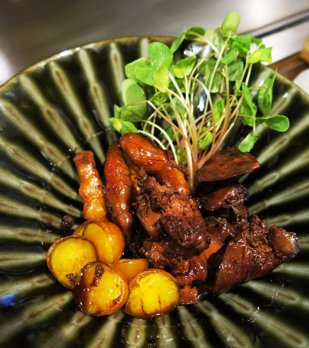 Bakawarai Kichijoji Izakaya food