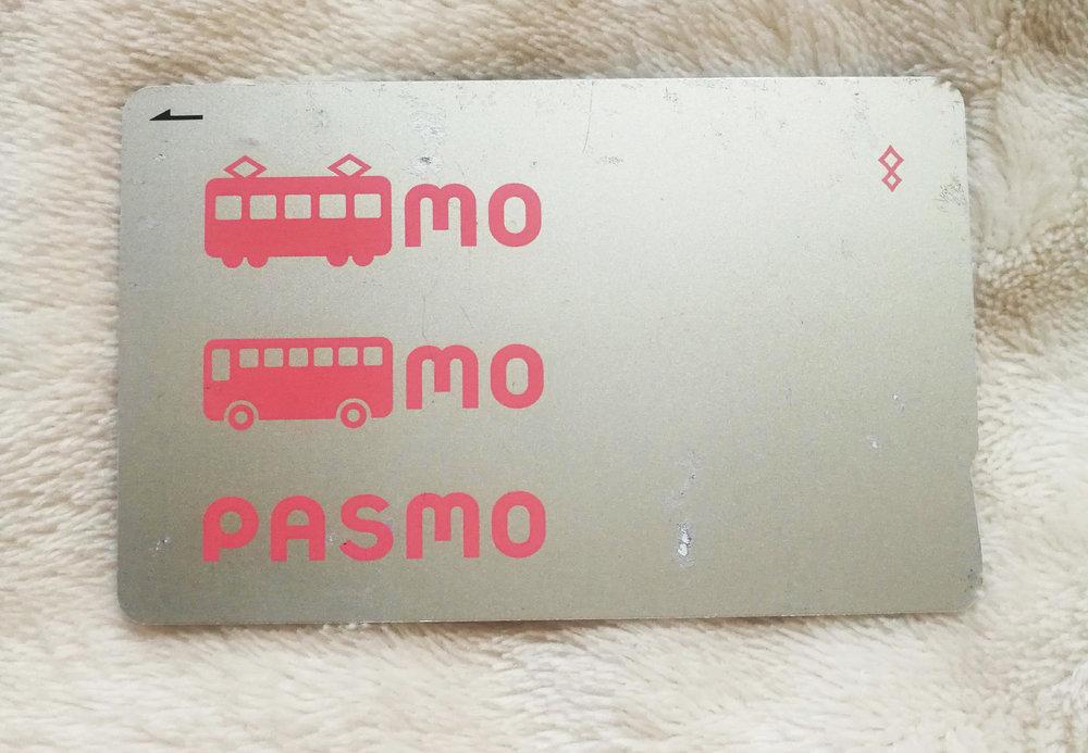 pasmo IC card