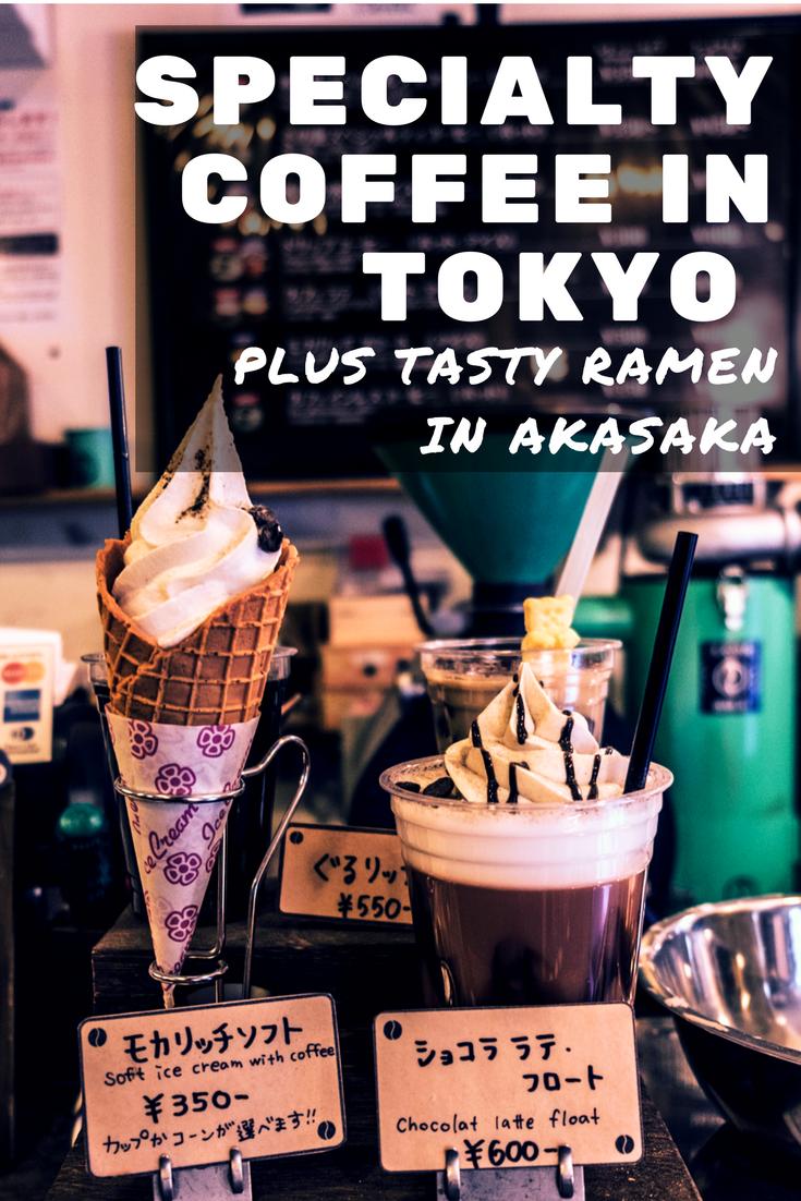 Akasaka ramen & specialty coffee in Roppongi tokyo