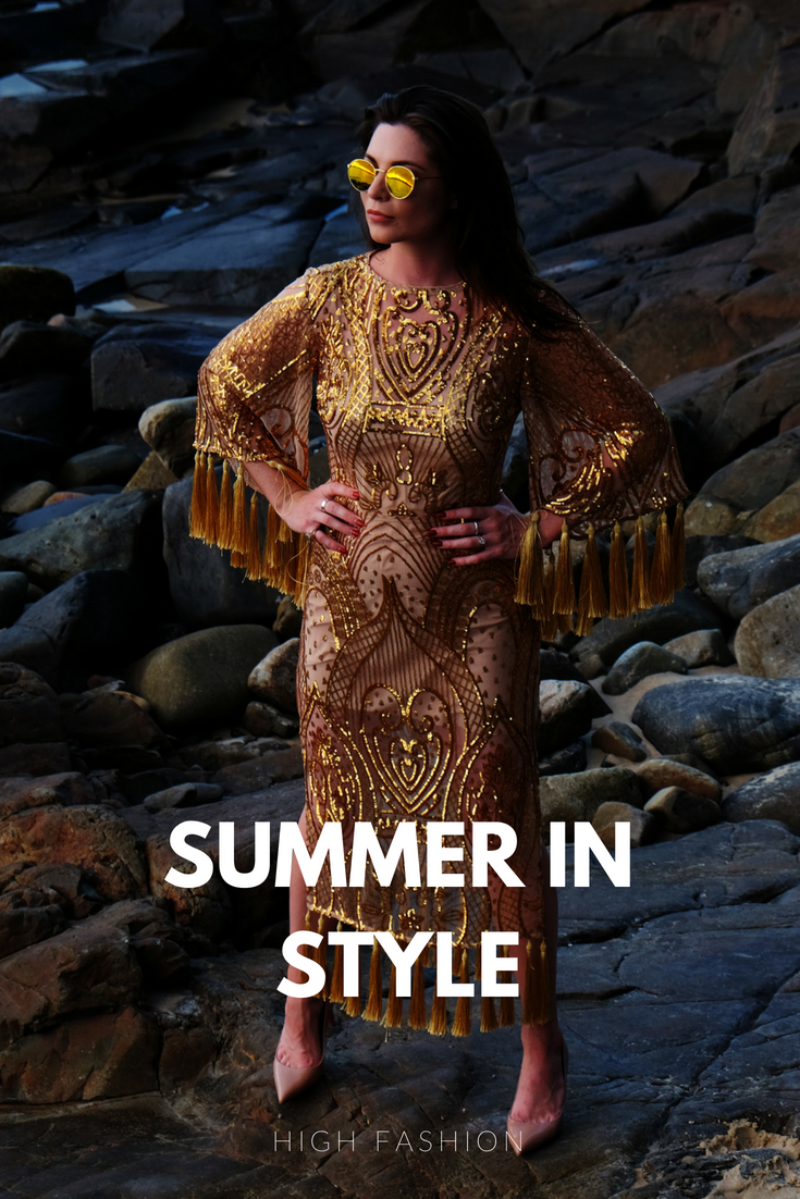 Summer in style. If you're looking for high fashion mixed with low fashion during the summer months then look not further.