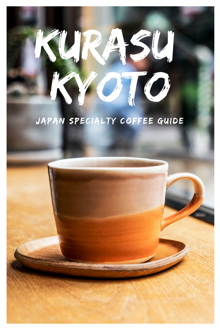 KURASU COFFEE ROASTERS ARE WORLD RENOWNED. IF YOU ARE LOOKING FOR AMAZING COFFEE IN KYOTO THEN LOOK NO FURTHER THAN THIS COFFEE STAND NEAR KYOTO STATION.