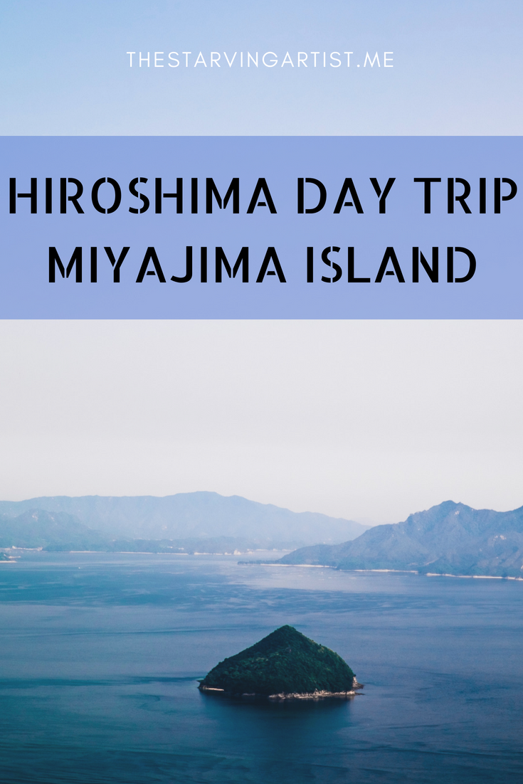 Day trip from Hiroshima to Miyajima Island. Hiking trails. Mountain climbing, Mojitos, deer, specialty coffee & more!