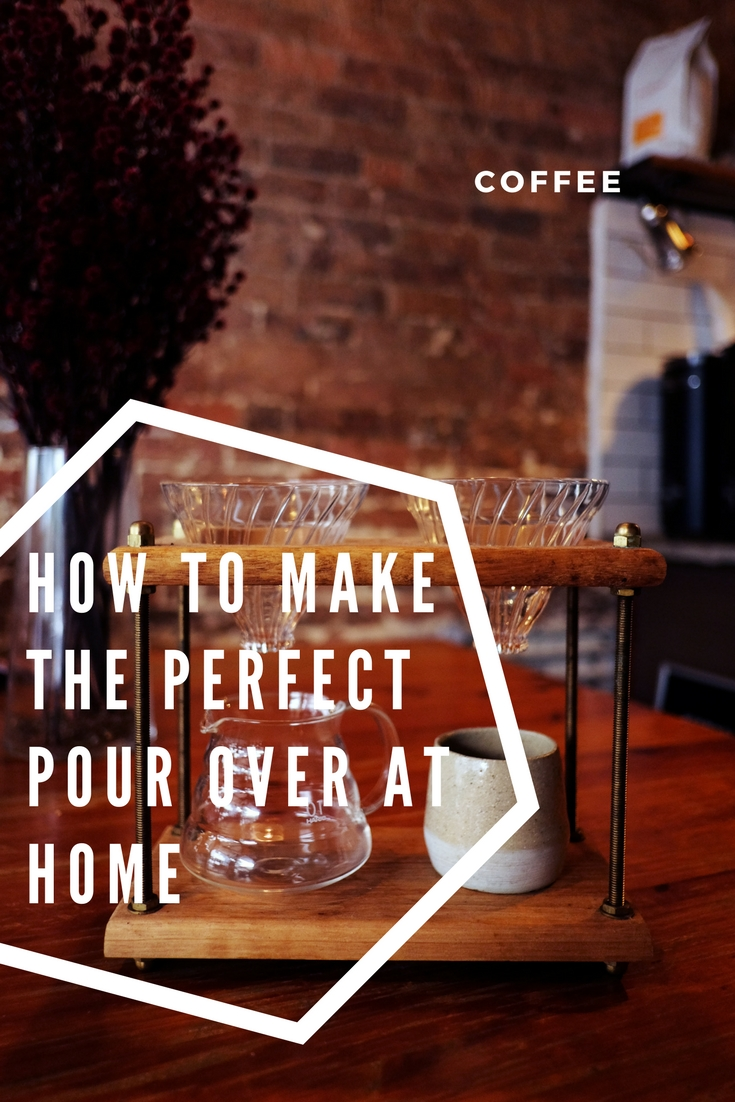 How to make v60 pour over at home. Step by step guide to coffee brewing at home