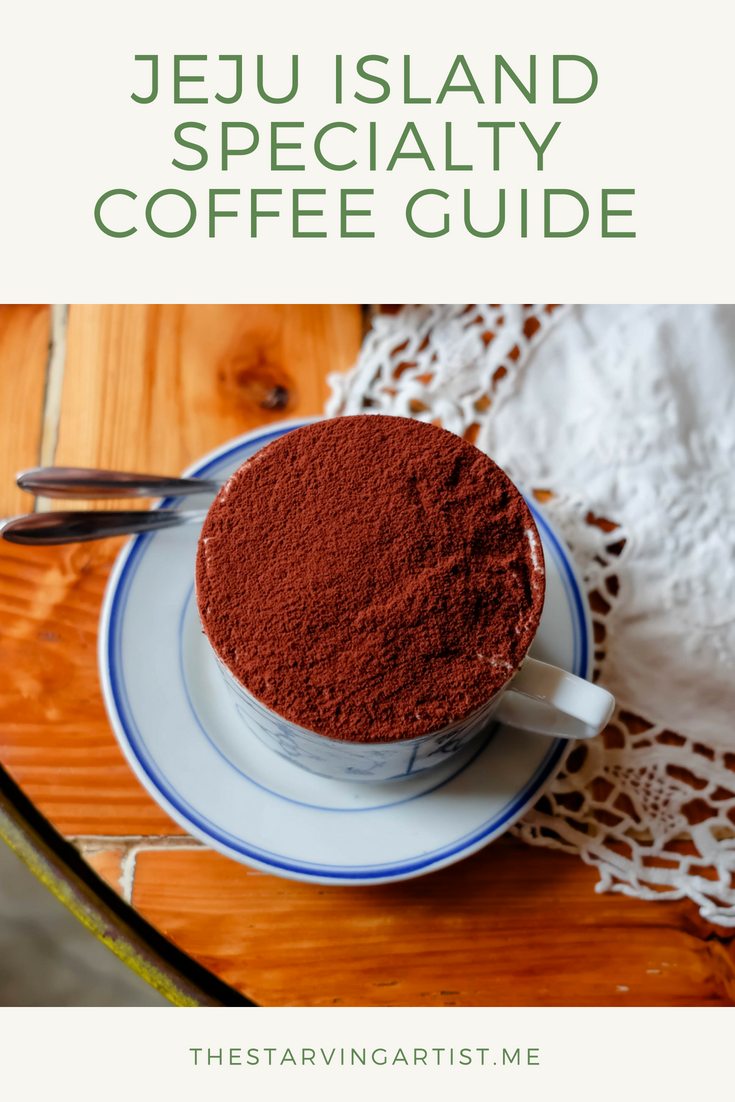 Specialty coffee guide to Jeju Island in South Korea. I show you some of the most beautiful & unique cafes Jeju Island has to offer.