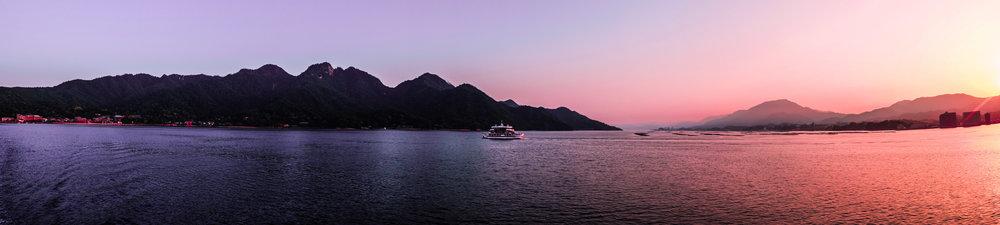 Ferry to Miyajima Island Hiroshima