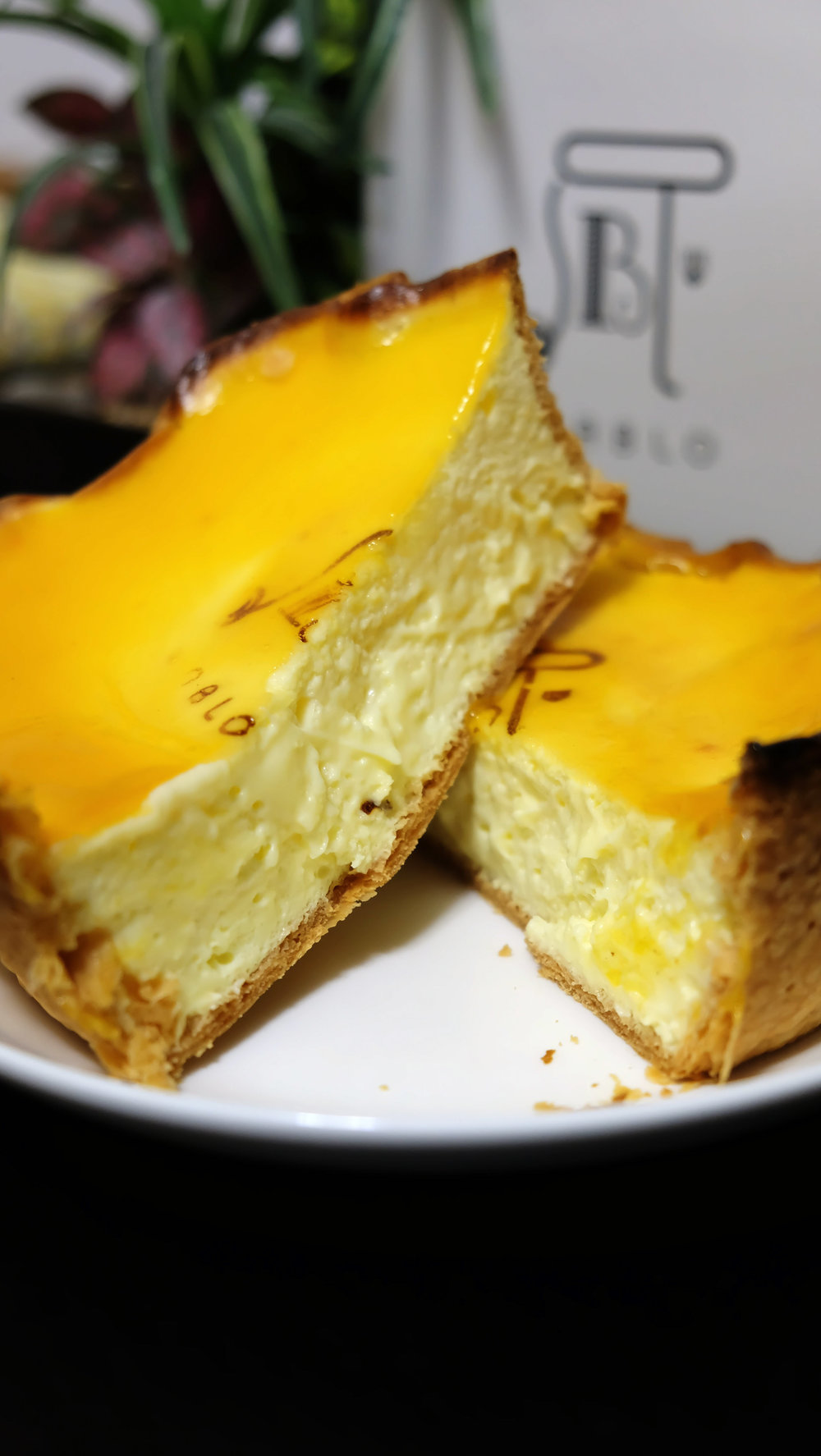 If you want to try the most perfect, fluffy crispy cheesecake in Osaka then look no further than Pablo Cheese cake. Look at that cross section!
