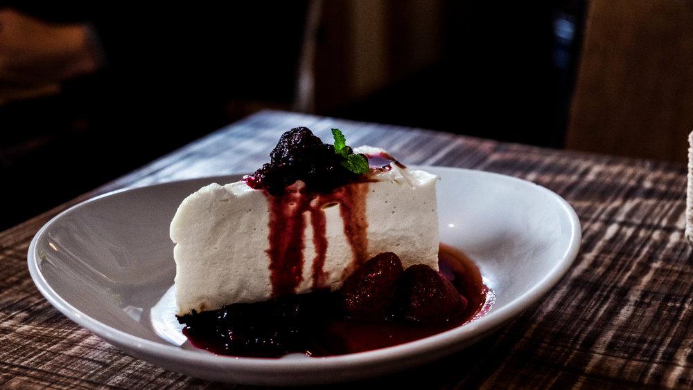 white bird coffee stand cheesecake