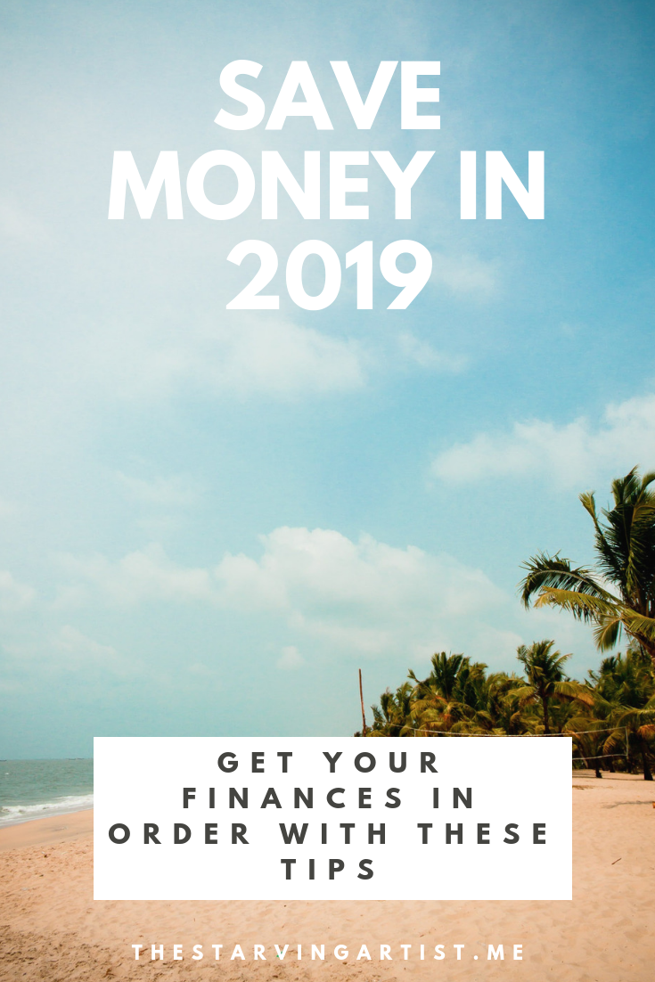 Get your finances in order in 2019. Tips & tricks to saving money in the new year. Save for your next holiday or to buy a new car. I saved over $20 000 in one year by implementing these tips!