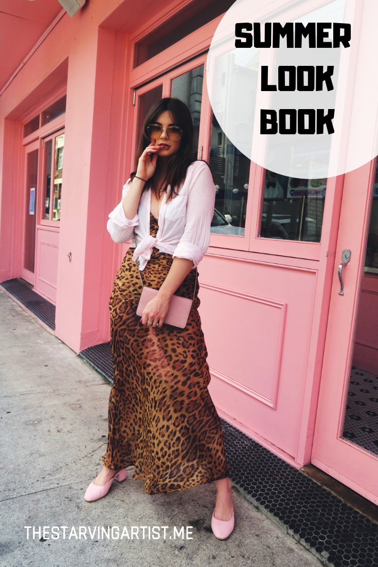 Summer fashion lookbook. Australian fashion editorial in Brisbane. Chanel and Marc Jacobs