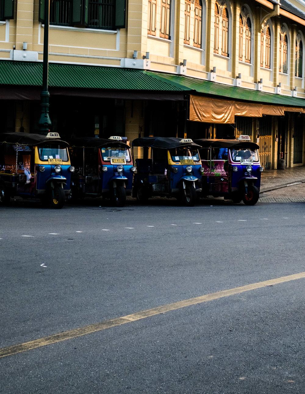 Tuktuk in Bangkok Thailand