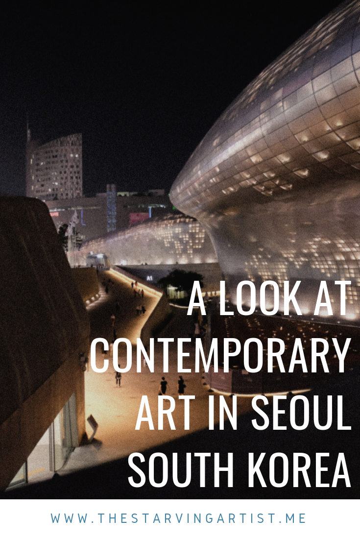 Taking a look at art culture in Seoul South Korea. Major art gallery insights, public art & graffiti. Seoul museum of art. Contemporary modern art in Seoul. Art guide Seoul.