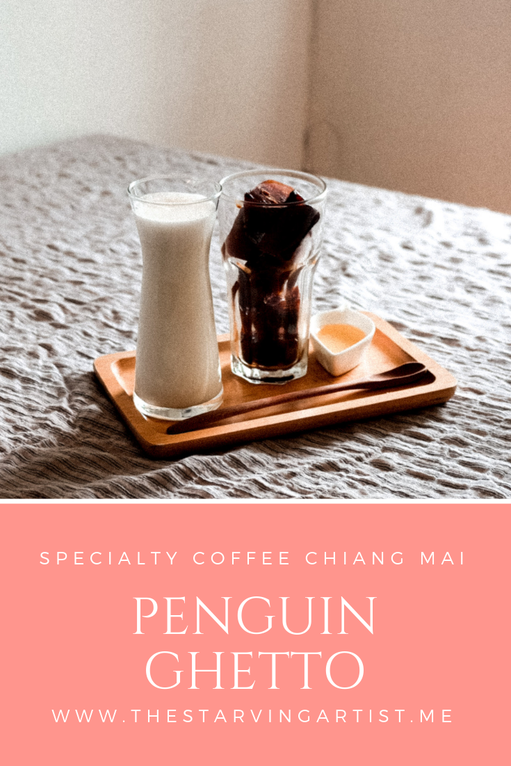 Specialty coffee Chiang Mai. Penguin Ghetto cafe. Enjoy unique espresso drinks in Chiang Mai Thailand.