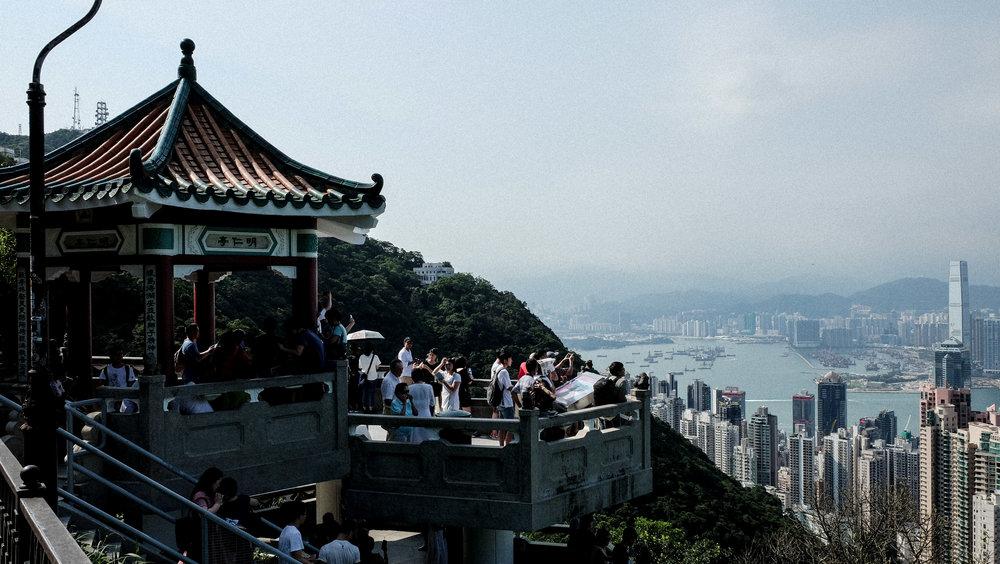Lions lookout Hong Kong Victoria Peak