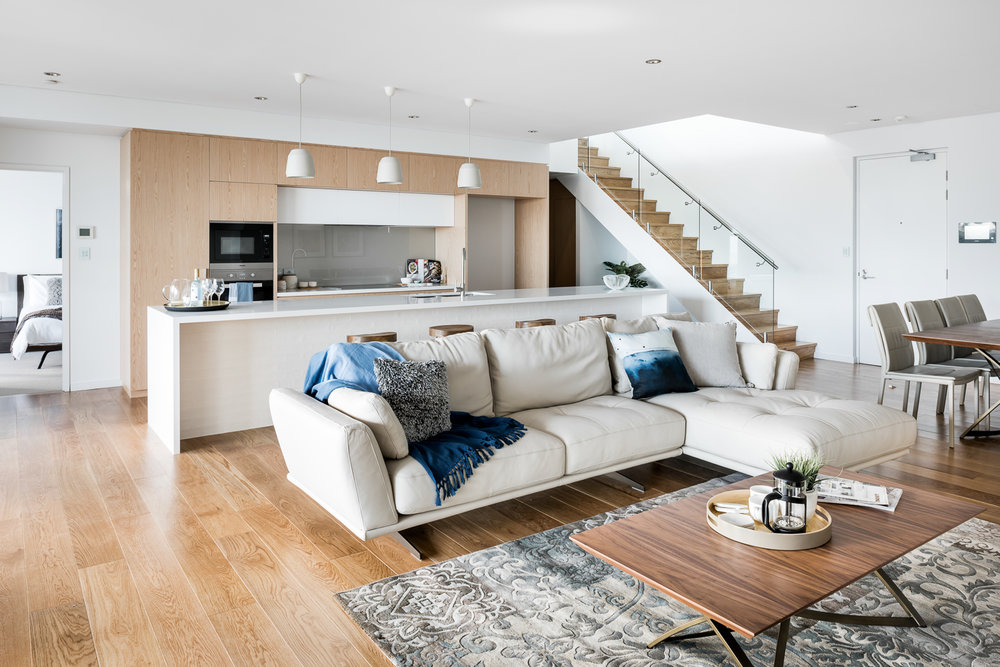 Aria Apartments - Hillam Architects | Solid French Oak