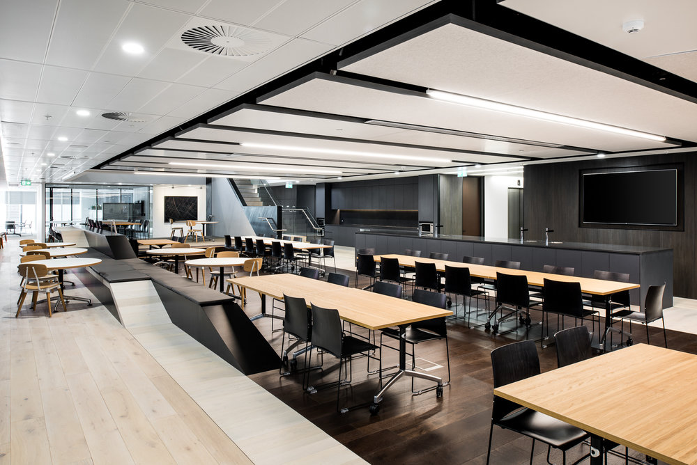Wesfarmers Head Office - HASSELL | Antique Whitewash / Brushed Cocoa