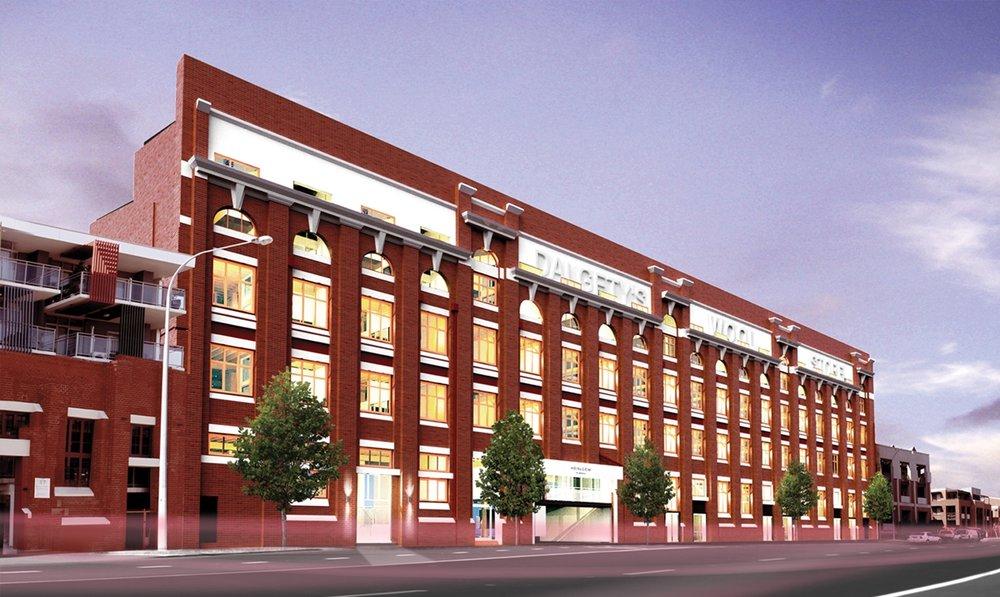 Heirloom Apartments - Cameron Chisholm & Nichol Architects