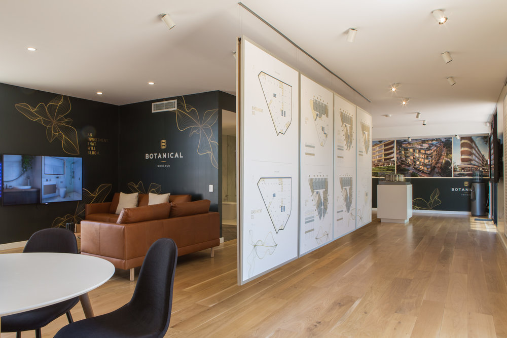 Botanical Apartments Display Suite - Hi  llam Architects | Solid French Oak
