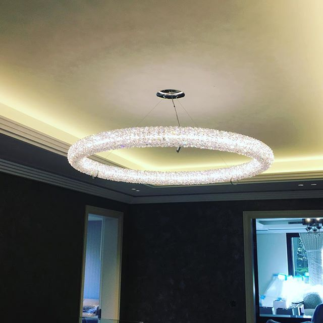 Swarovski crystal lighting