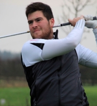 Sam Whitaker  Caddie: Martin Gray  Blankney GC  H'Cap before experience: +3