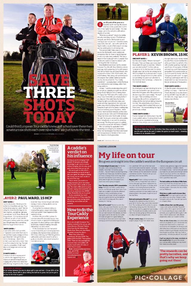 January 2017 Todays Golfer Article.