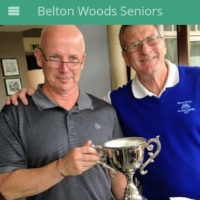 Steve Daly  Caddie Steve Brotherhood  Belton Woods  Handicap before experience 22