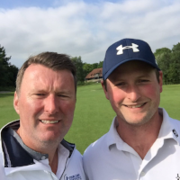 Ali Cheyne  Caddie Sean McDonagh  South Winchester GC  Handicap before experience 0