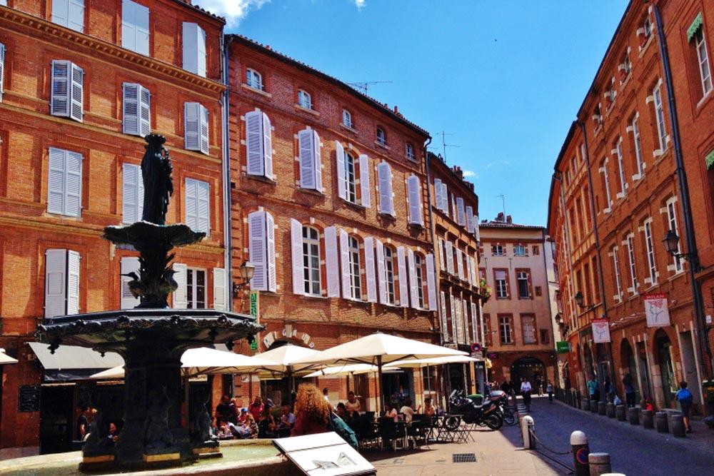 Toulouse cafes - Chateau JAC