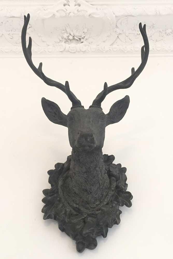 Chateau JAC deer head sculpture