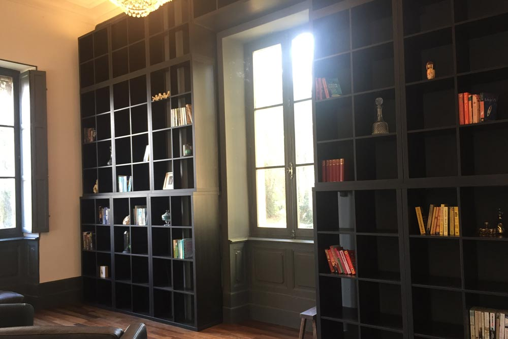 French Chateau for rent with Library