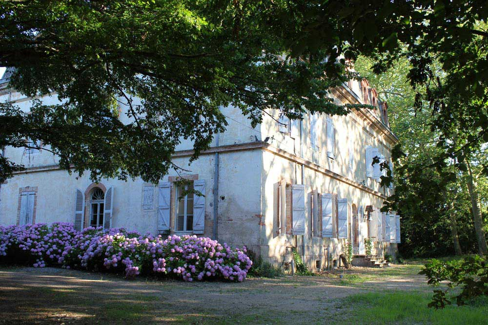 Chateau Jac view from garden