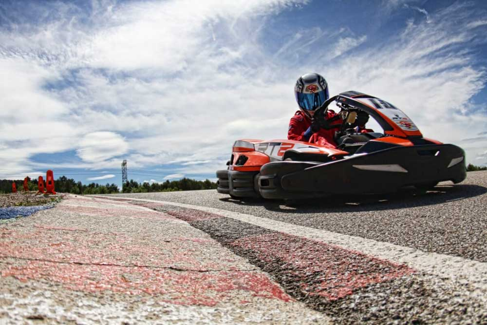 Enjoy Go karting during your French Chateau holiday