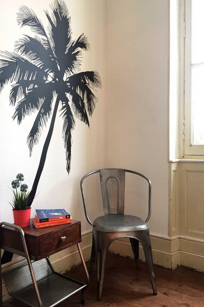 Chateau JAC palm trees