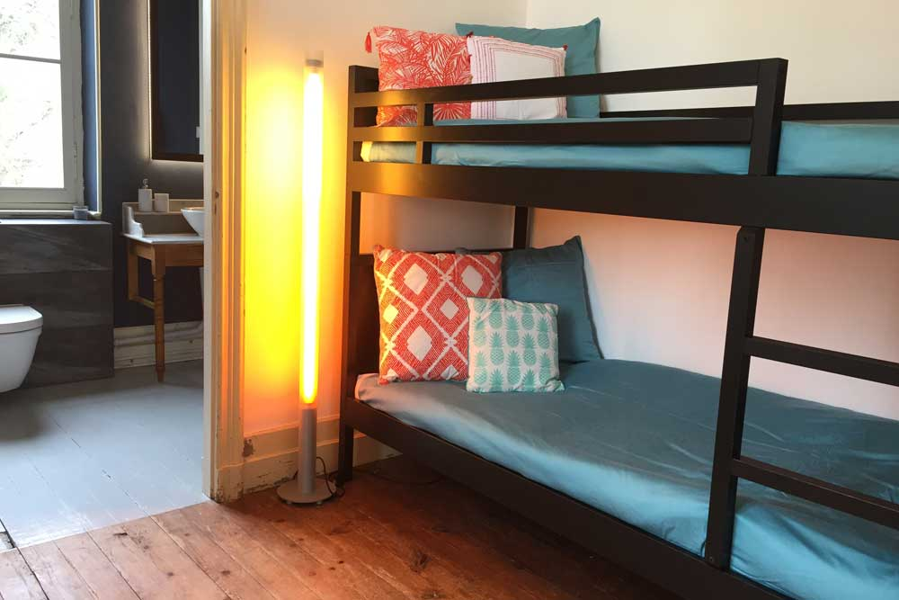 Chateau to rent with bunk bed