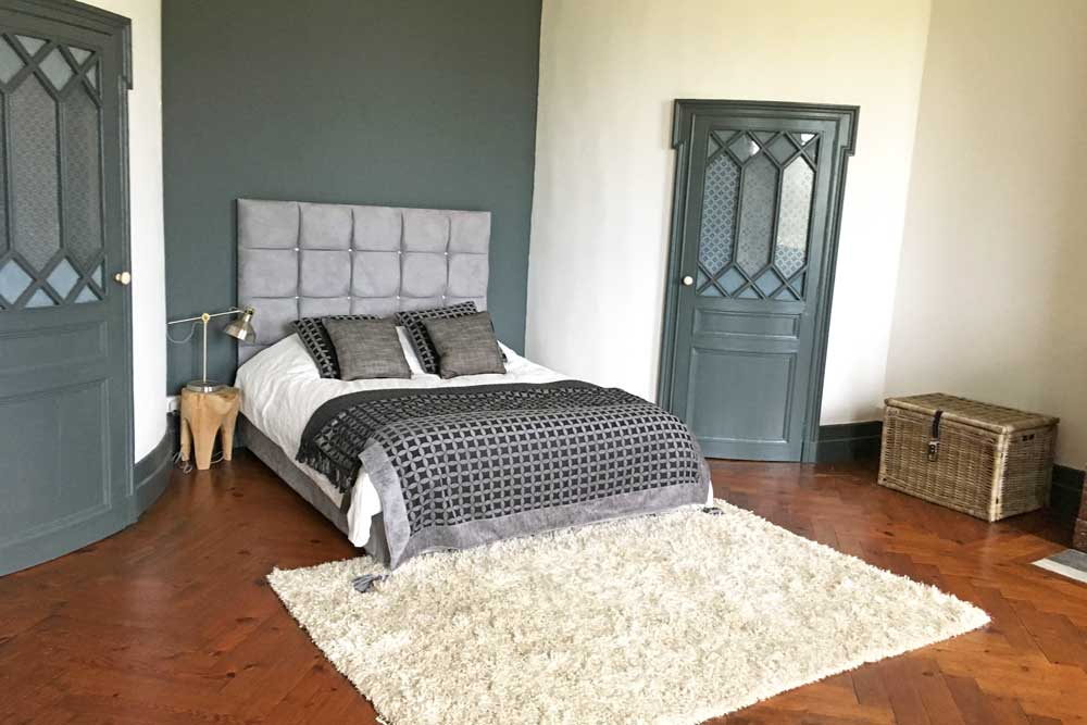 Rent a French Chateau with large bedrooms
