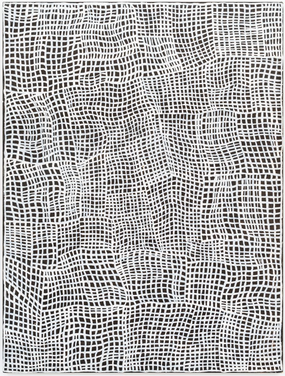 Abie Loy Kemarre, Awelye,Acrylic on linen, 120 x 90 cm, 2009