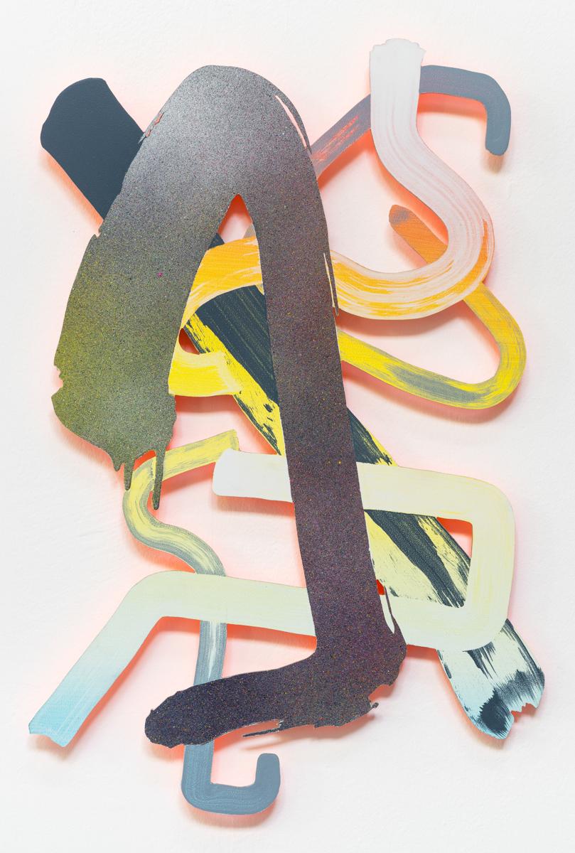 Ulterior Relief, 60 x 40 cm, acrylic on aluminium, 2016