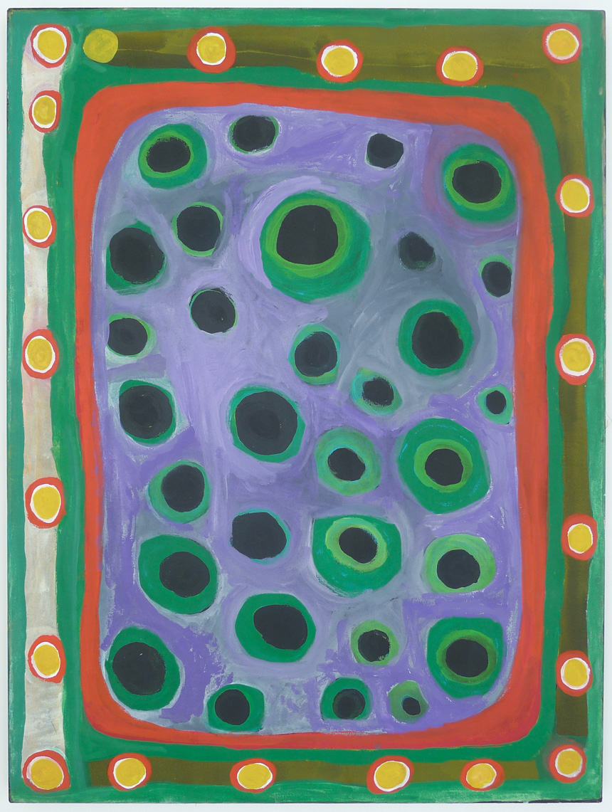 Dolly Snell, Kurtal, acrylic on canvas, 120 x 90 cm