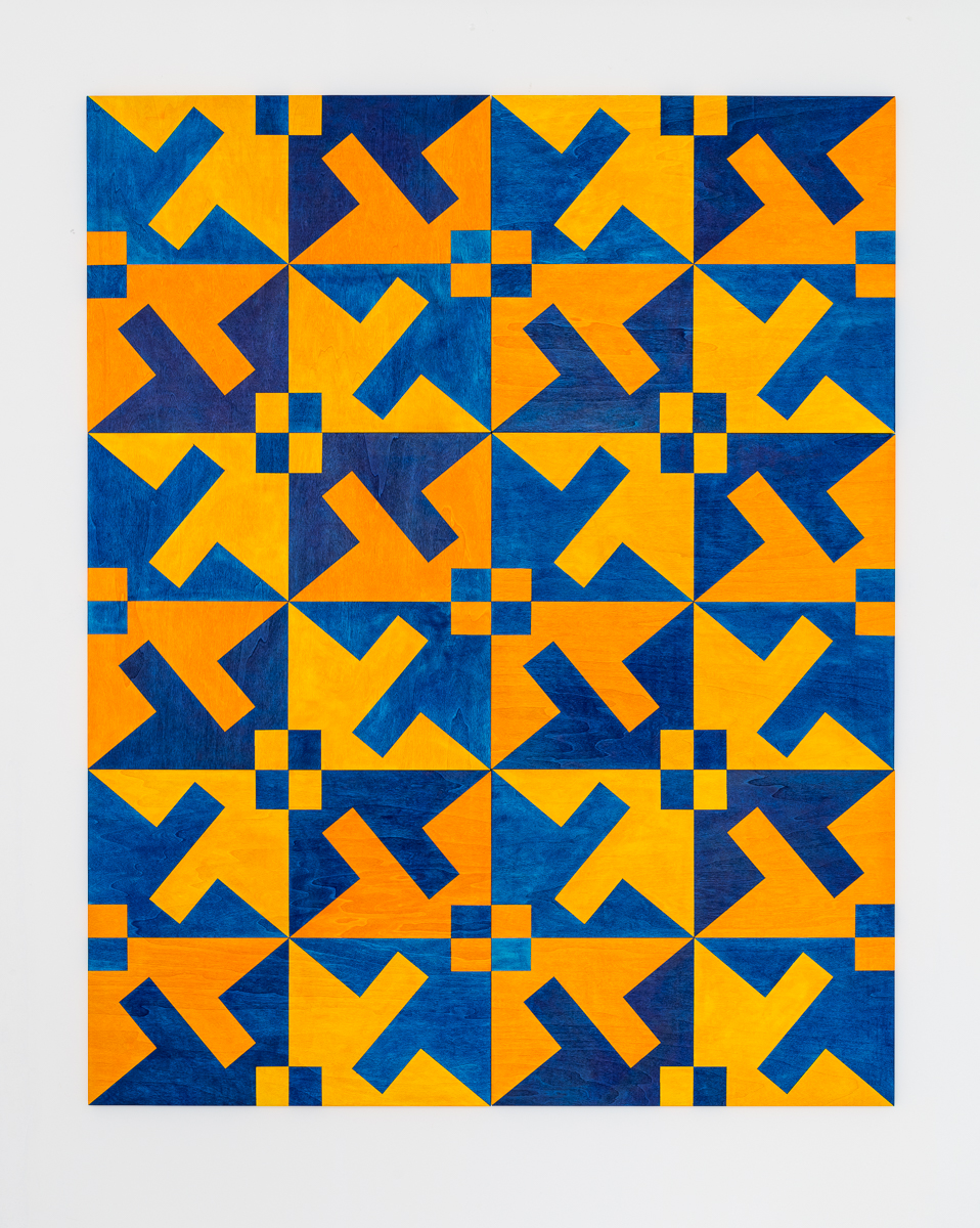 Untitled (yellow/blue), 2017